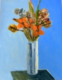 Fantasy Flowers in a vase - SOLD