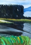 River at Dusk 2 - SOLD